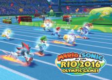 Mario & Sonic Make an Olympic Run! - Hot Issue