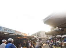 At the Traditional Market - Focus