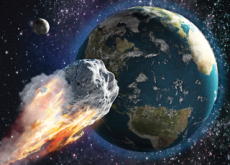 Asteroid Flies Close To The Earth - Science