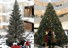 Huge Christmas Trees Light Up Korea! - Places
