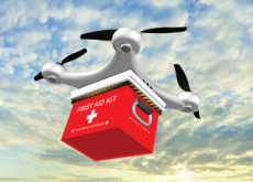 A Drone Delivers Life-Saving Medicine to an Isolated Patient - World News