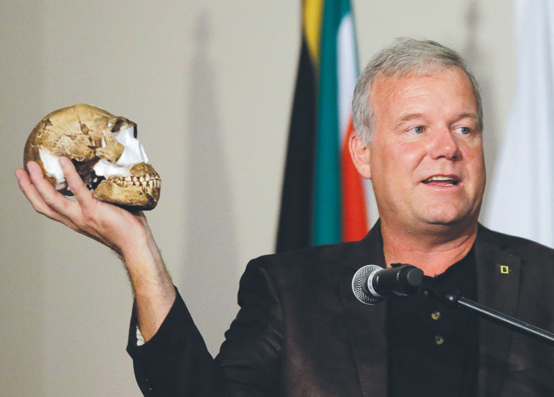 New Men Fossils come into View