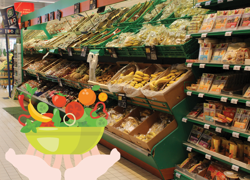 France to Reduce Supermarket Waste And Feed the Hungry (Fri)