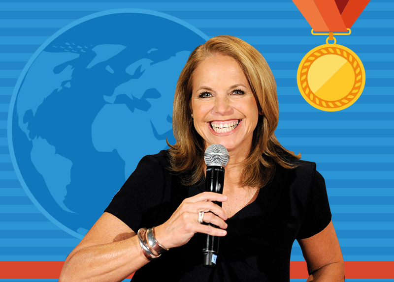 What's the Scoop? Ask Katie Couric!0