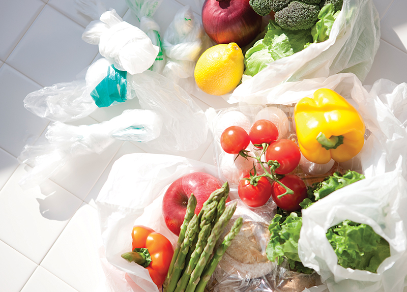 Should markets charge for plastic bags?0