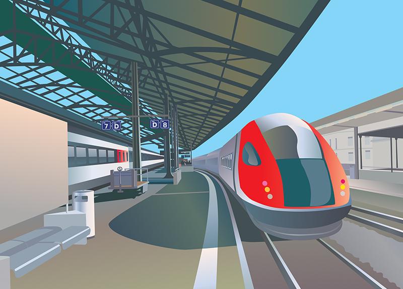 Super Rapid Train0