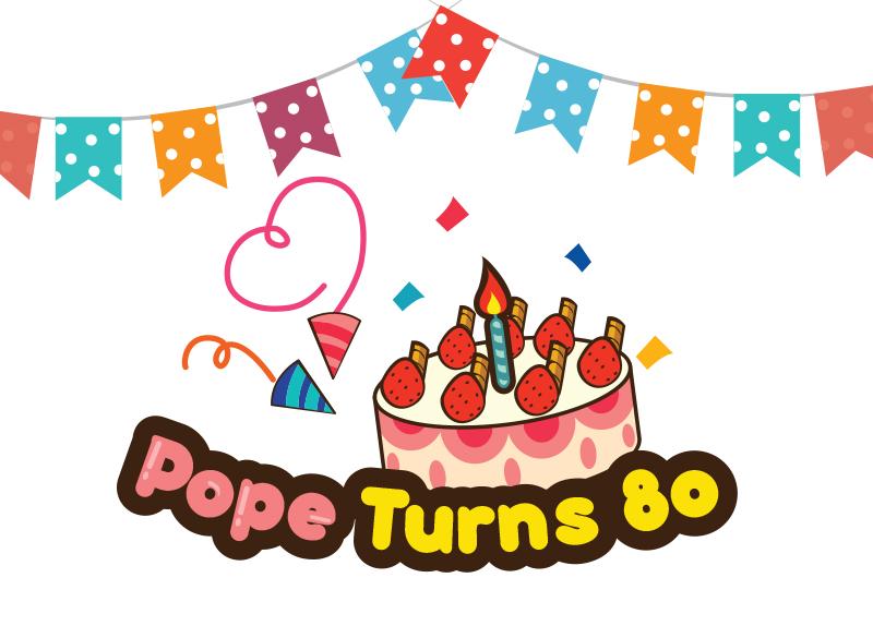 Pope Turns 80