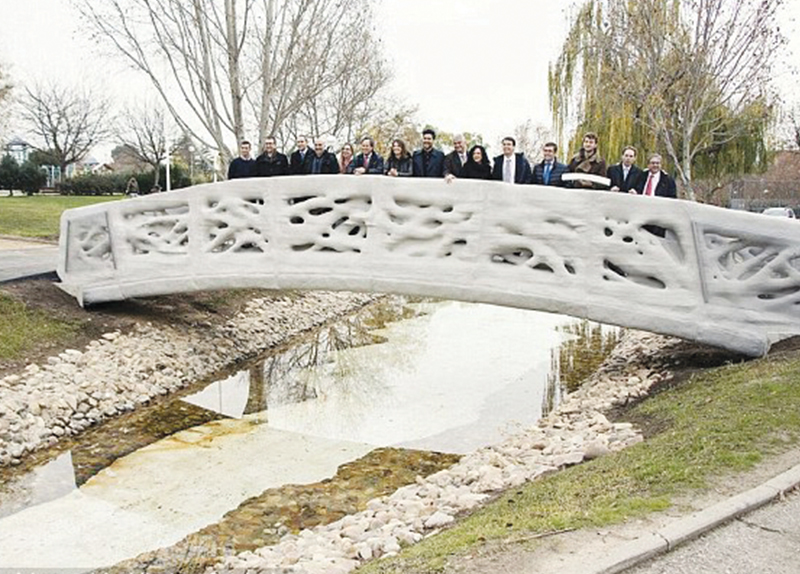 World's First Printed Bridge2