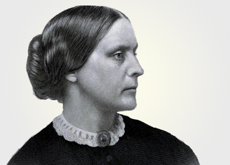 Susan B. Anthony: A Pioneer In June0
