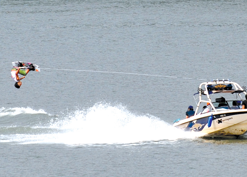 Water Skiing On The Bukhan River!3