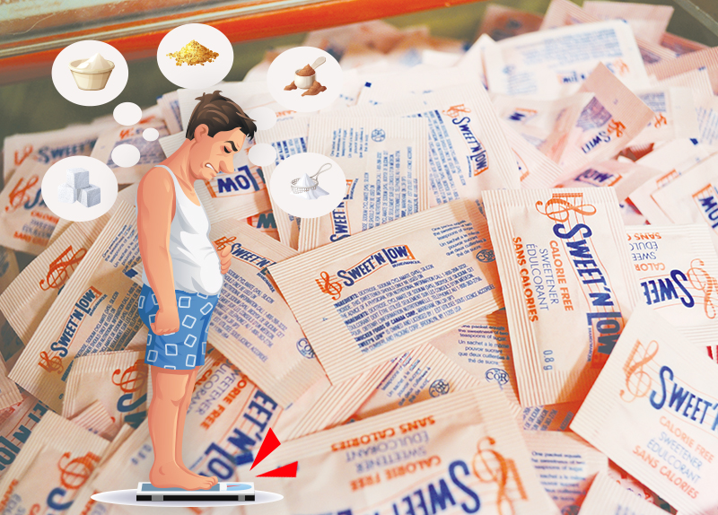 Artificial Sweeteners May Contribute To Weight Gain