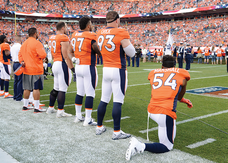 Should We Protest Our National Anthem?
