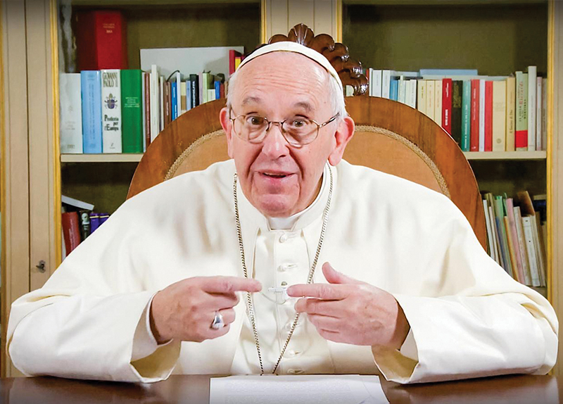 Pope Francis Warns Against Fossil Fuels