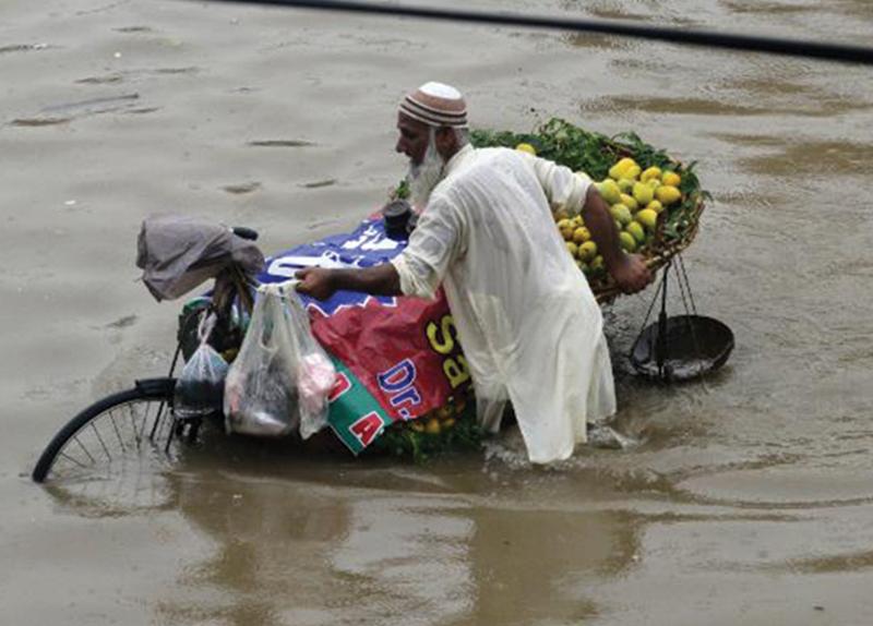 Powerful Monsoon Rains In Pakistan0