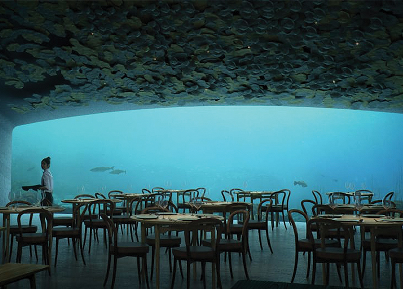 The World's Largest Underwater Restaurant