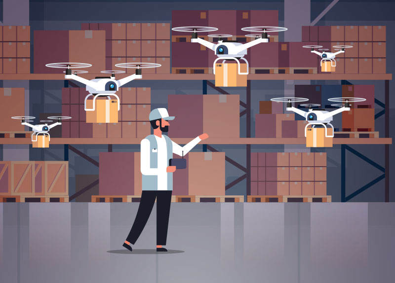 The World's First Drone Food Delivery Service0