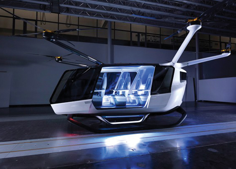 The World's First Hydrogen-Powered Air Mobility System0