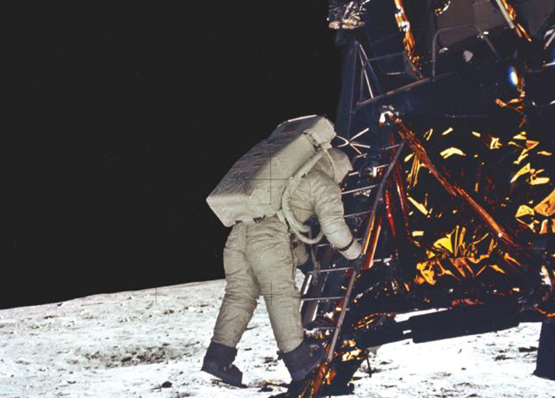 The First Human Landing on the Moon0