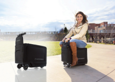 Why Lug a Suitcase? Just Ride It! - What`s New?