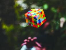 A new world record of rubik's cube - World News
