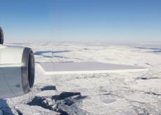 A Rectangular Iceberg In The Antarctic - World News