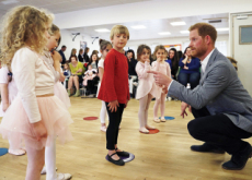Prince Harry's Ballet Class Experience - Focus
