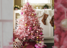 Pink Christmas Trees - Culture