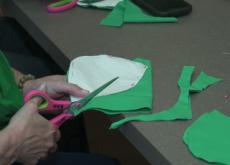 Volunteers Make Masks for Healthcare Workers - Focus