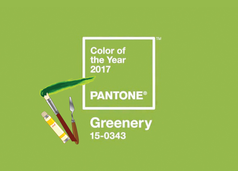 Greenery is the Color of 2017!0