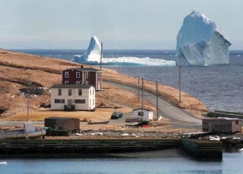 Massive Iceberg in Canada