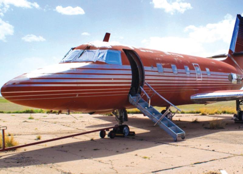 Elvis Presley's Private Jet0