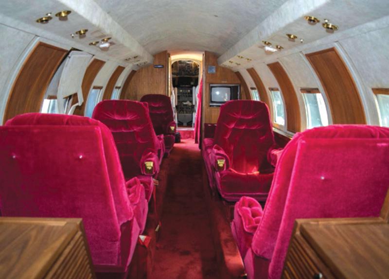 Elvis Presley's Private Jet2