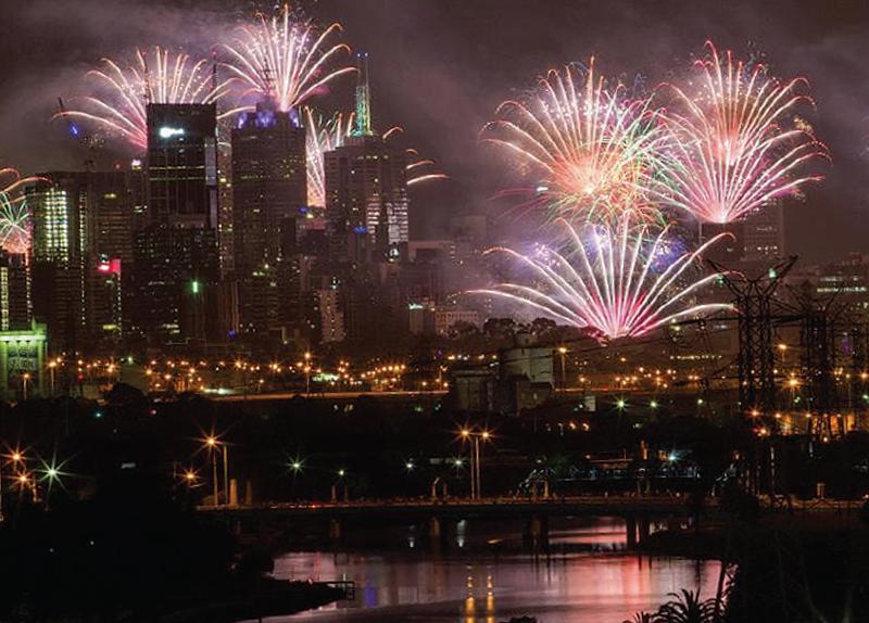 Fireworks In Melbourne0