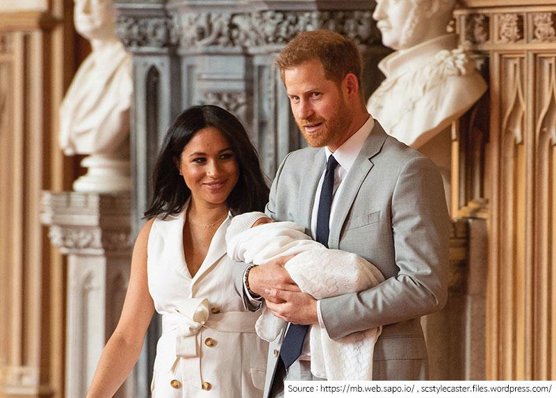 Royal Couple's Newborn Son Revealed3