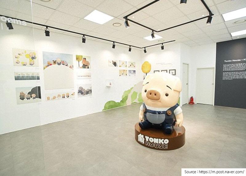 Tonko House Animation Exhibition0