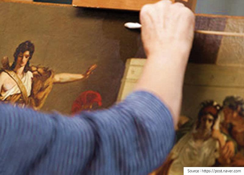 Preserving Artworks With Saliva?