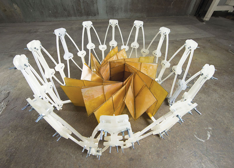 Why Did a Paper Folding Master Go to NASA?