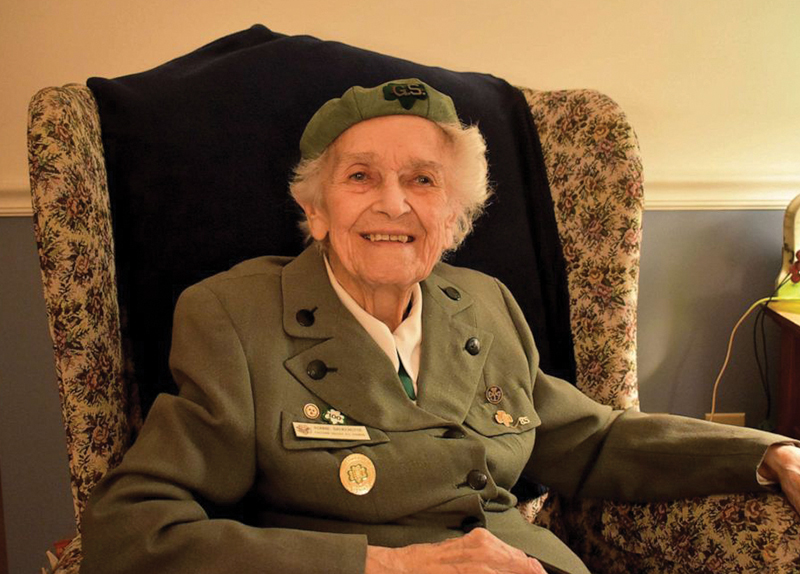 Ronnie the 98-Year-Old Girl Scout2