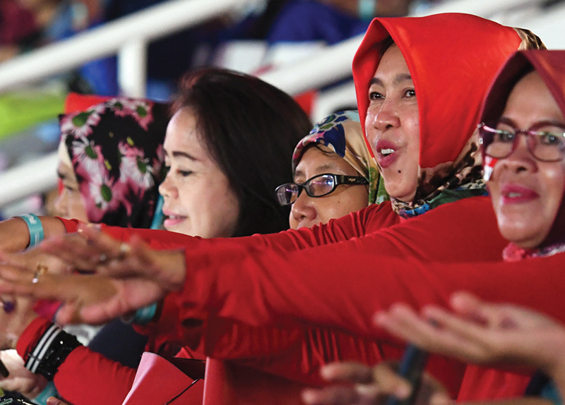 Indonesian Athletes Adjust to the Pandemic0