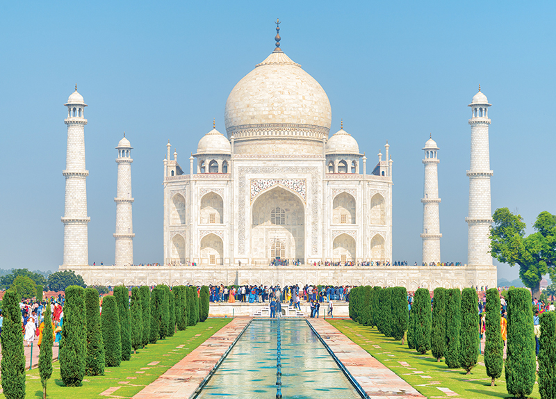 The Taj Mahal0