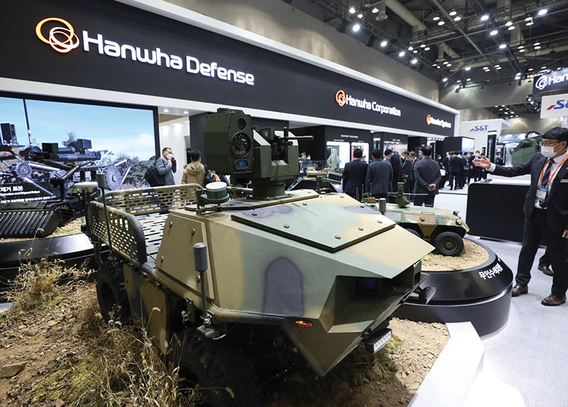 Korean Military to Utilize New Multipurpose Unmanned Vehicle0