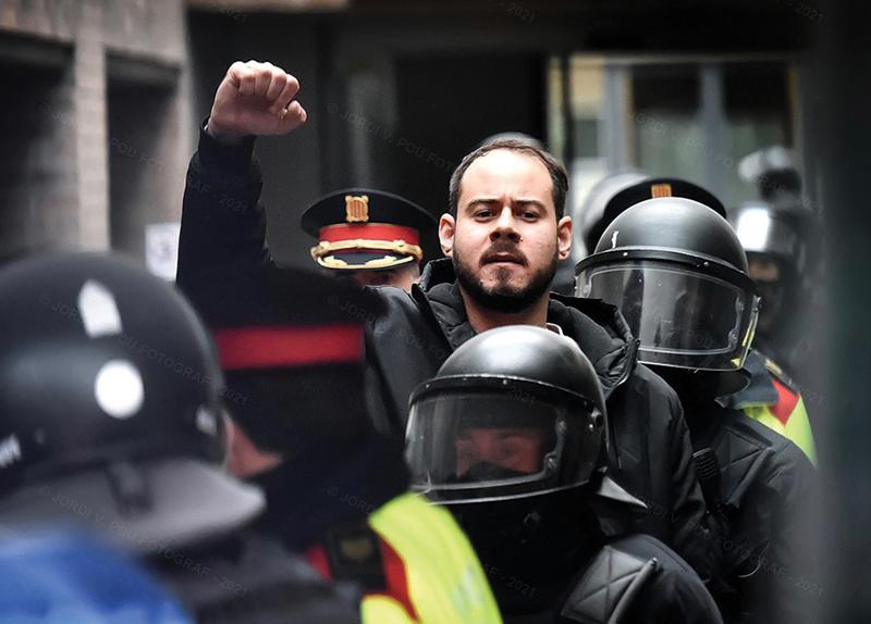 Arrest of a Rapper Sparks Protests in Spain4