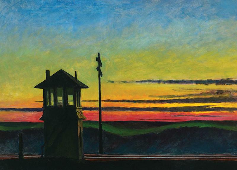 Railroad Sunset0