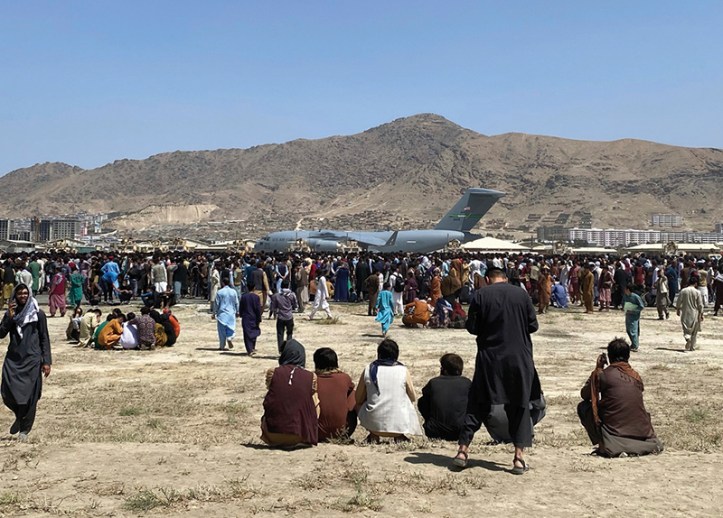 Countries Around the World Accept Afghan Refugees0