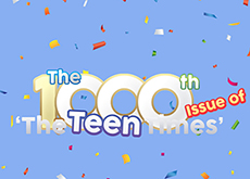The 1,000th Issue of 'The Teen Times' - Focus