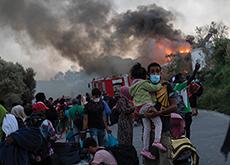 Fire Destroys Europe's Largest Migrant Camp - Headline News