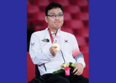 Korea's First Gold Medalist at the Tokyo 2020 Paralympics - Photo News
