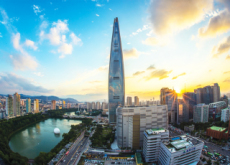 Marathoners Race Up Lotte World Tower's 2,917 Stairs - National News II