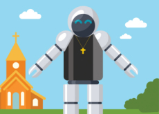 Robot Priest In Germany - Special Report