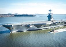 U.S. Unveils New Aircraft Carrier, U.S.S. Gerald Ford - Headline News